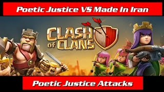 Poetic Justice VS Made In Iran || Poetic Justice Attacks