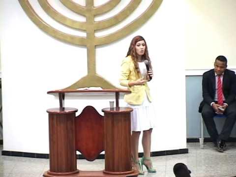Miss. Leandra Nascimento Mensagem Tirando a morte de Cena Culto Celebrai in Xerém