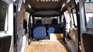 How to convert a Fiat Doblo car into a campervan