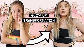 GLOW UP TRANSFORMATION w/ Adelaine Morin