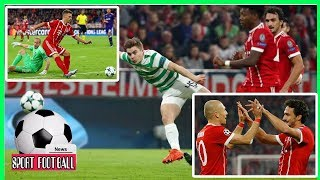 Bayern's 3-0 win over Celtic in the Champions League