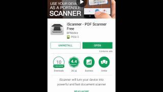 iScanner for Android - A Video Review