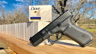 How Many Dove Soap Bars Does It Take To Stop The New Glock45?