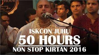 Hare Krishna Kirtan by Vrindavan Prabhu on Day 3 of ISKCON Juhu 50 hours Non Stop Kirtan 2016