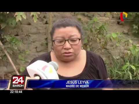 Chiclayo escolar desaparece y cámara de seguridad la captó por última vez