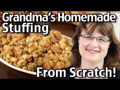 Xxx Mp4 How To Make Homemade Stuffing From Scratch Classic Thanksgiving Stuffing 3gp Sex