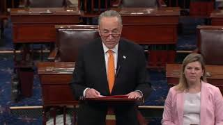 Chuck Schumer RIPS Lindsey Graham For Turning Judicary Into Political Arm Of The President 5/2/19