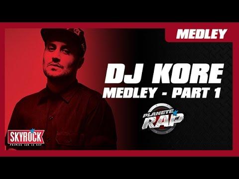 DJ Kore - Medley Story (Part 1) en live dans Planète Rap !
