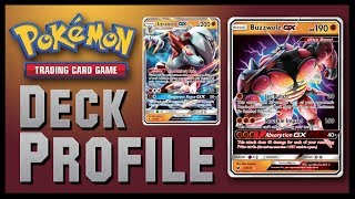NEW Buzzwole GX / Lycanroc GX - Forbidden Light Pokemon TCG Deck Profile