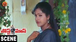 Soundarya Challenges To Raasi || Postman Movie Scenes