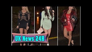 Chloe ferry shows some serious underboob in very revealing dress as she joins charlotte crosby and