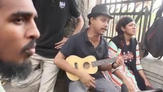 মন যাতনা পিরিত কি,তুই আমারে শিখাইলি।Mon jatona Peret ki By Rana, Munna,Mizan,Shawon DU students