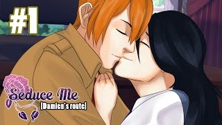 THE CINNAMON ROLL! - Seduce Me The Otome Part 1 [Damien's Route] Gameplay