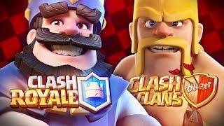 Clash Royale VS. Clash of Clans [Batalha de Gigantes]