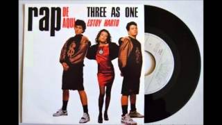 02- Rap De Aqui - THREE AS ONE - Estoy Harto (1990) (HD)