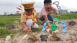 Trò Chơi Bé Doli Phiêu Lưu Ký ❤ ChiChi ToysReview TV ❤ Đồ Chơi Trẻ Em Baby Fun