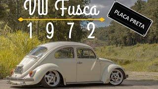 Vw Fusca 1972 - Aircooled PLACA PRETA | Kmph |