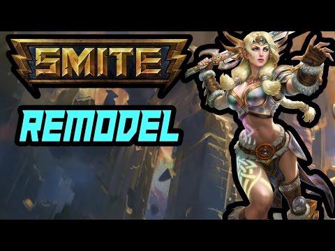REMODEL (FREYA) - Smite Skin Preview