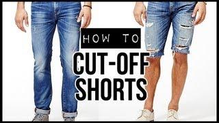 HOW TO: CUT-OFF SHORTS ✂ D.I.Y TUTORIAL | JAIRWOO