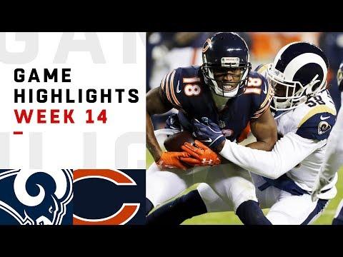 Rams vs. Bears Week 14 Highlights | NFL 2018