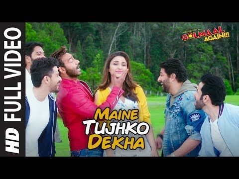 Xxx Mp4 Maine Tujhko Dekha Full Song Video Golmaal Again Ajay Devgn Parineeti 3gp Sex