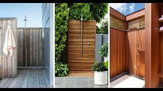 🔝 TOP 10+ BEST Outdoor Shower Design Ideas | DIY Cheap Building Shower Kits Plans Enclosure 2018