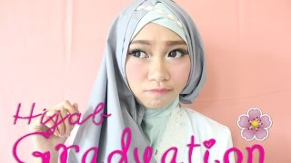 Tutorial Hijab Simple GRADUATION | Atami Puspa