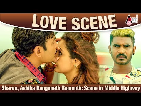 Xxx Mp4 Raambo 2 Movie Romantic Scene Sharan Ashika Ranganath Chikkanna Kannada Film Love Scene 3gp Sex