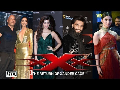 xXx: Return of Xander Cage Grand Premier | Vin Diesel, Deepika | Full Video