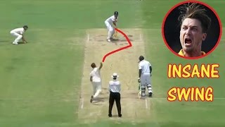 Top 10 Insane Swing Balls in Cricket History ★ Must Watch ★