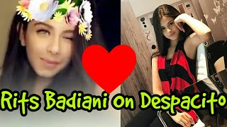 Rits Badiani Cute Moves on Despacito Song||You Will Love Her Expressions||MUST WATCH