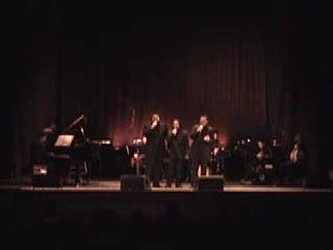 3 Filipino Tenors in New York sing Dahil Sa Iyo