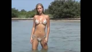 WORLD'S SMALLEST BIKINI THONG Near NAKED NUDE Photo Shoot BREATHTAKING MODEL Uptown Girl BILLY JOEL