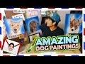 Realistic Dog Paintings! (Teehee Time)