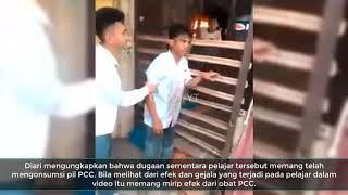 Heboh Video Pelajar Jadi Zombi di Pasar, Akibat Obat PCC?