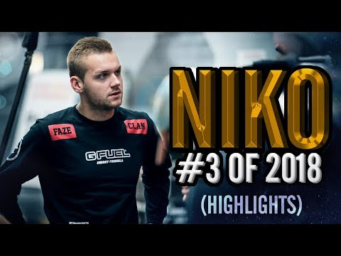Xxx Mp4 NiKo 3rd Best Player In The World HLTV Org 39 S 3 Of 2018 CS GO 3gp Sex