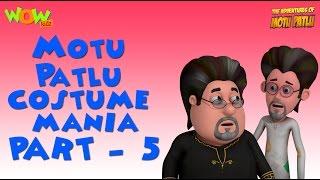 Motu Patlu - Costume Mania - Motu Patlu Compilation Part 5 -As seen on Nickelodeon