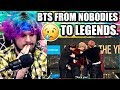 Download Video Download BTS // FROM NOBODIES TO LEGENDS 2013- DEC 2017 | REACTION!! 3GP MP4 FLV