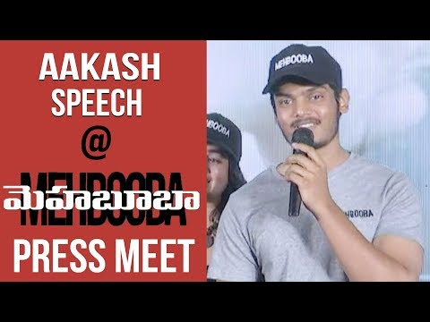 Xxx Mp4 Hero Akash Puri Confident Speech At Mehbooba Movie Press Meet Puri Jagannadh Neha Setty 3gp Sex