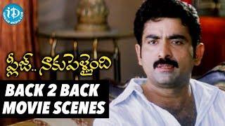 Sruthi Malhotra Back To Back Scenes from Please Naaku Pellaindi  | Telugu Best Love Scenes