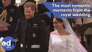 The most romantic moments from the royal wedding