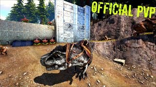 I HAVE BEEN RAIDED...Moving the Base - Official PVP (E36) - ARK Survival