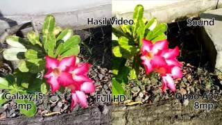 Oppo A37 VS Samsung Galaxy J5  - Camera Test