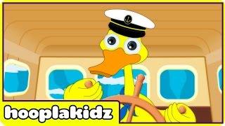 I Saw a Ship a Sailing | Nursery Rhymes | Rhymes For Kids by Hooplakidz