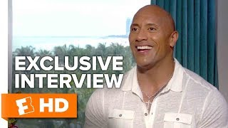 What's It Like to Kiss The Rock? - Baywatch (2017) Interview | All Access