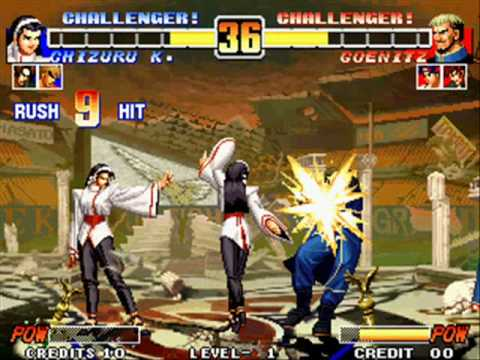 KOF Klub: King of Fighters 96 Desperation Moves AND SDMs