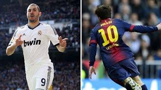 Lionel Messi vs Karim Benzema  |THE STRIKING FORCE!!!! |