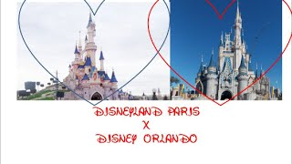 Disney Paris x Disney Orlando