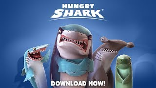 Hungry Shark Games - Time to get sharky!