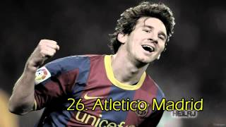 Lionel Messi ● Top 50 Goals ● 2004 2013